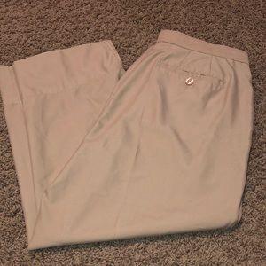 Liz Golf Kylie Fit Capri Crop Khaki Golf Pants Sz8